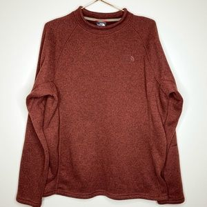 Maroon North Face Sweater